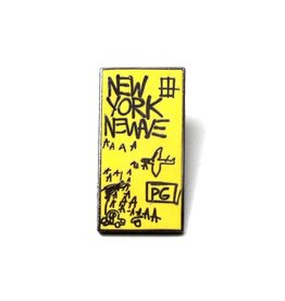 Jean-Michel Basquiat Jean-Michel Basquiat - New York New Wave Pin