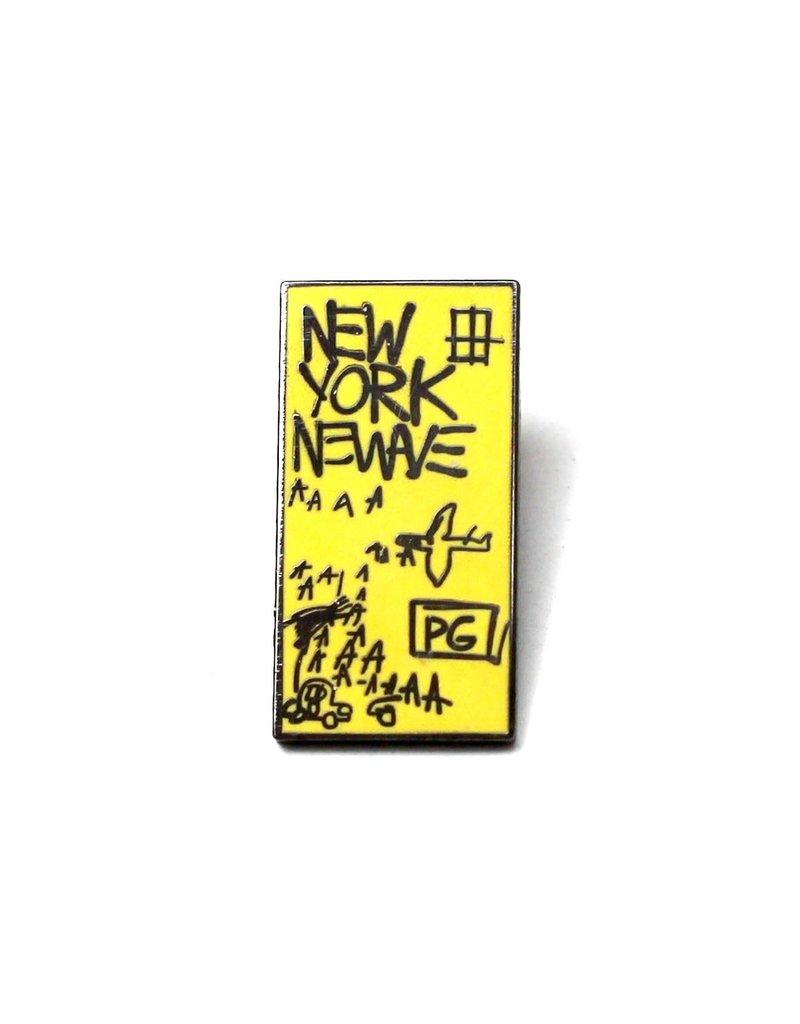 Jean-Michel Basquiat Jean-Michel Basquiat - New York New Wave Pin