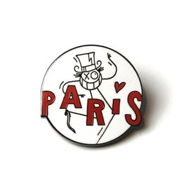 André Saraiva - Mr. A in Paris Pin