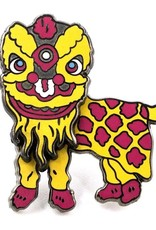 Pintrill Lion Dance Pin