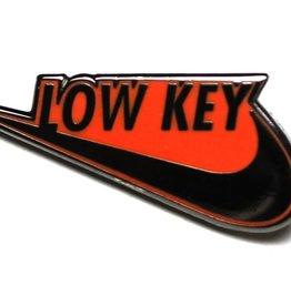 Pintrill Low Key Swoosh Pin - Orange