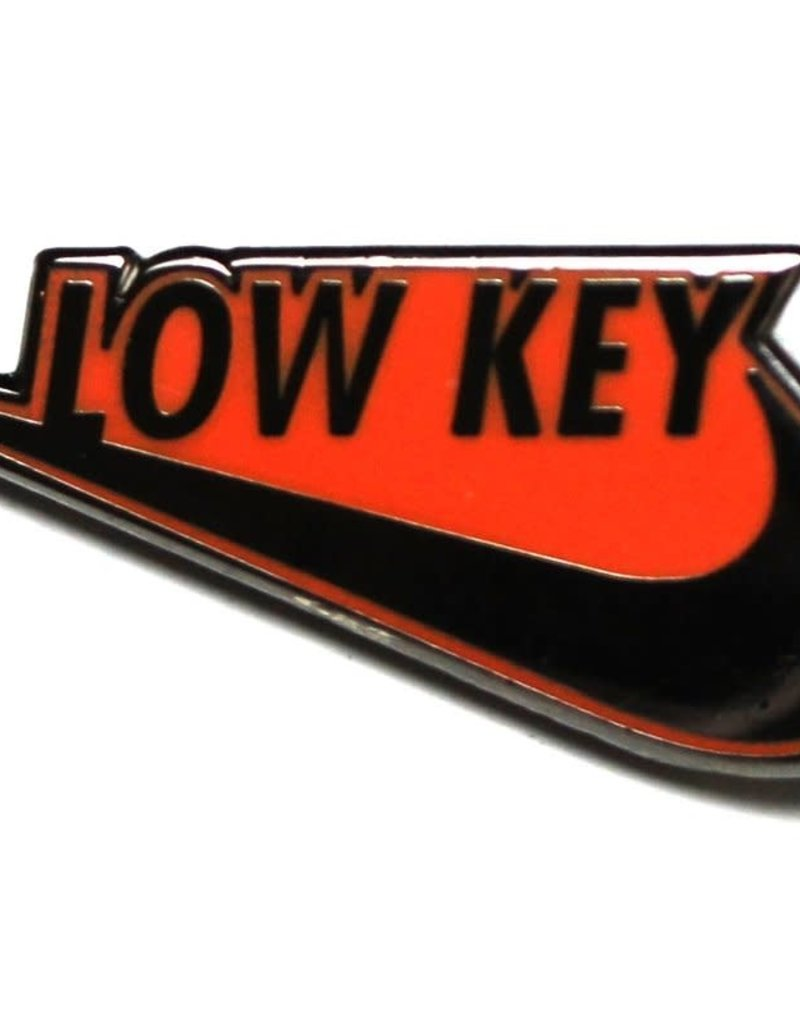 Pintrill Low Key Swoosh Pin - Orange