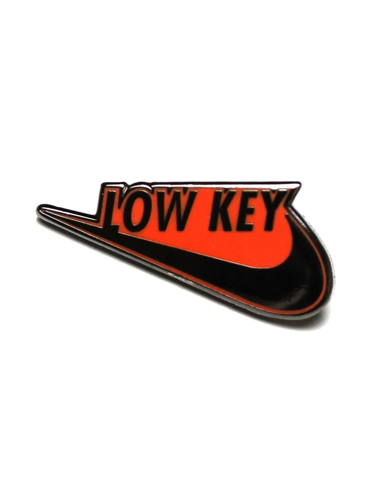Low Key Swoosh Pin - Orange