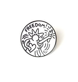Pintrill Keith Haring - Freedom Pin