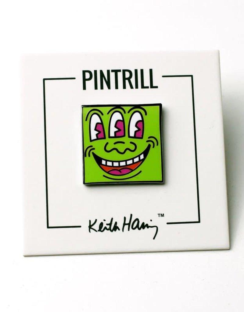 Keith Haring Keith Haring - Green 3 Eyed Monster Pin