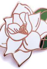 Pintrill Flower Series - Magnolia Pin