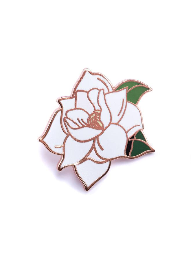 Flower Series - Magnolia Pin