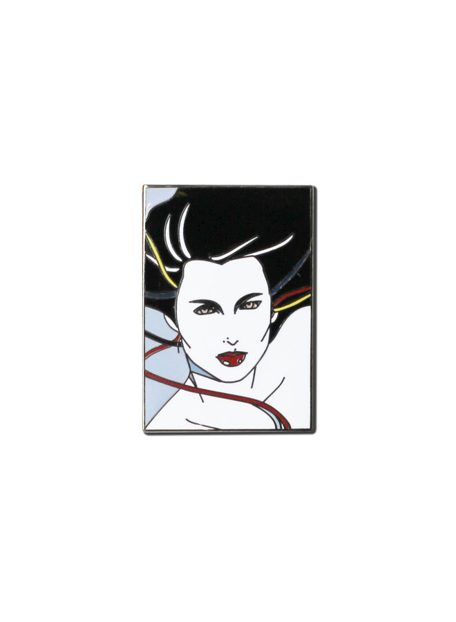 Patrick Nagel - Lady With Blowing Hair