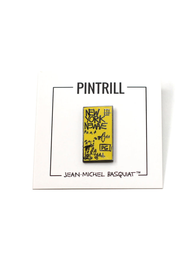 Jean-Michel Basquiat - New York New Wave Pin