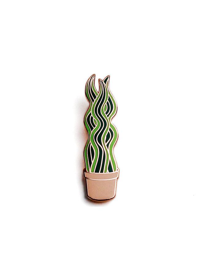 Plant Series - Snake Plant Pin