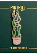 Pintrill Plant Series - Snake Plant Pin