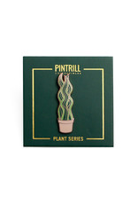 Pintrill Plant Series - Snake Plant Pin