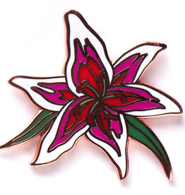 Pintrill Flower Series - Stargazer Lily