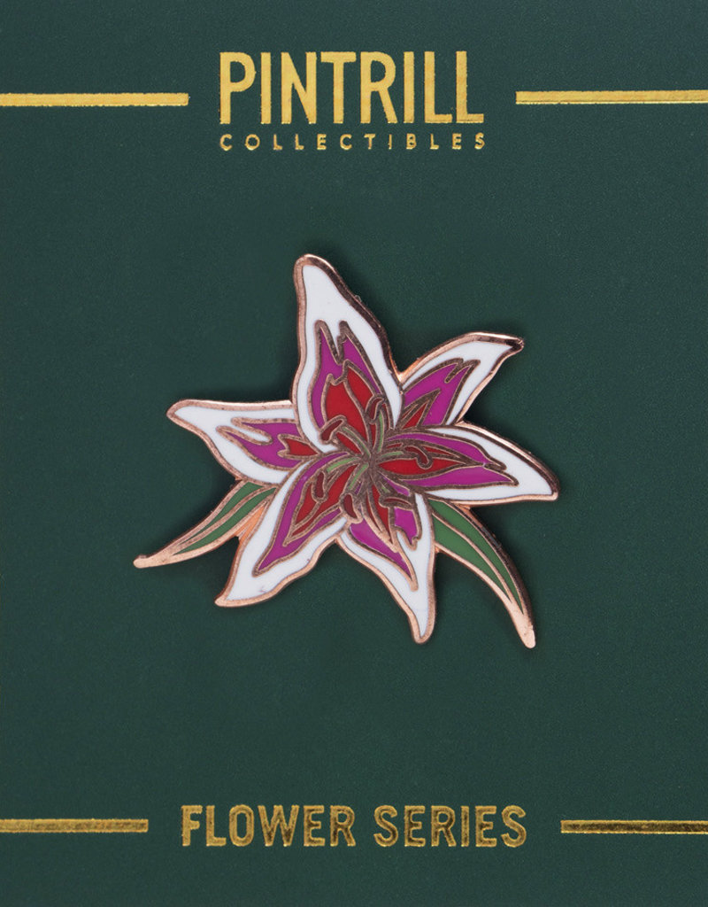 Pintrill Flower Series - Stargazer Lily