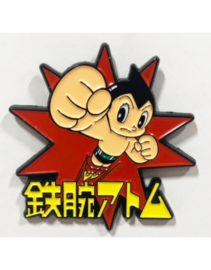 Astro Boy Astro Boy Theme Metal Logo Pin