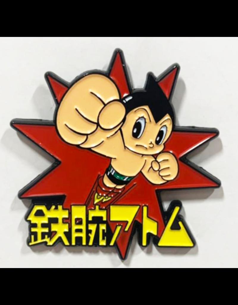 Astro Boy Theme Metal Logo Pin