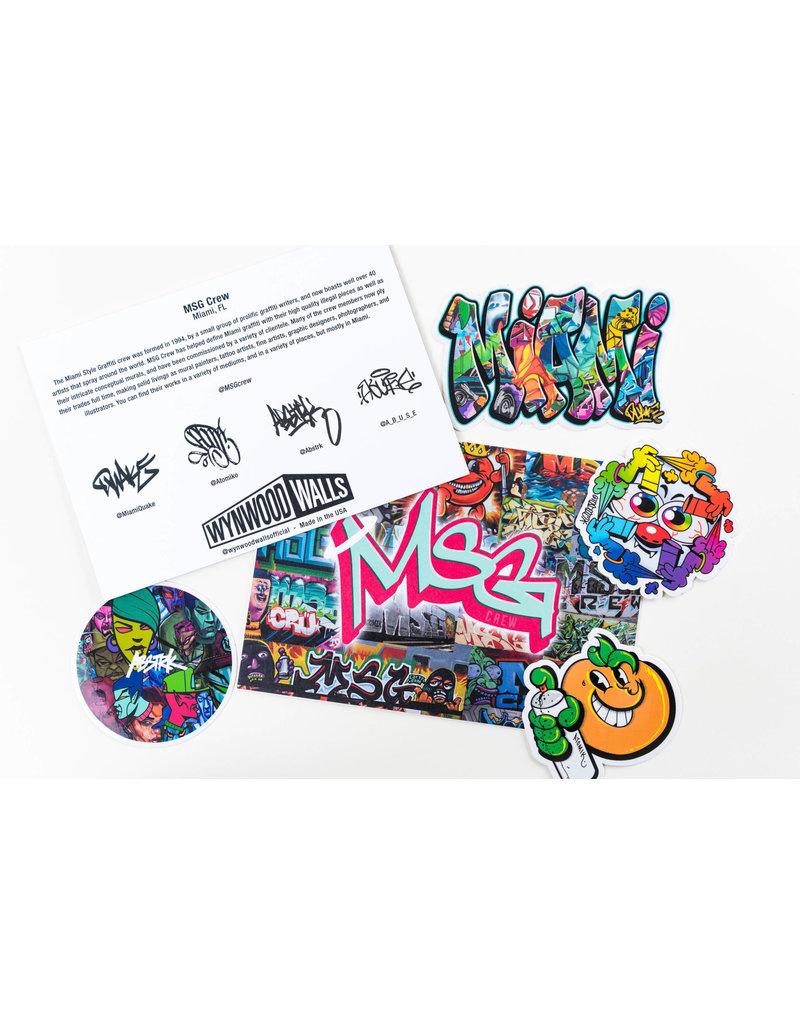 MSG Crew Sticker Pack II