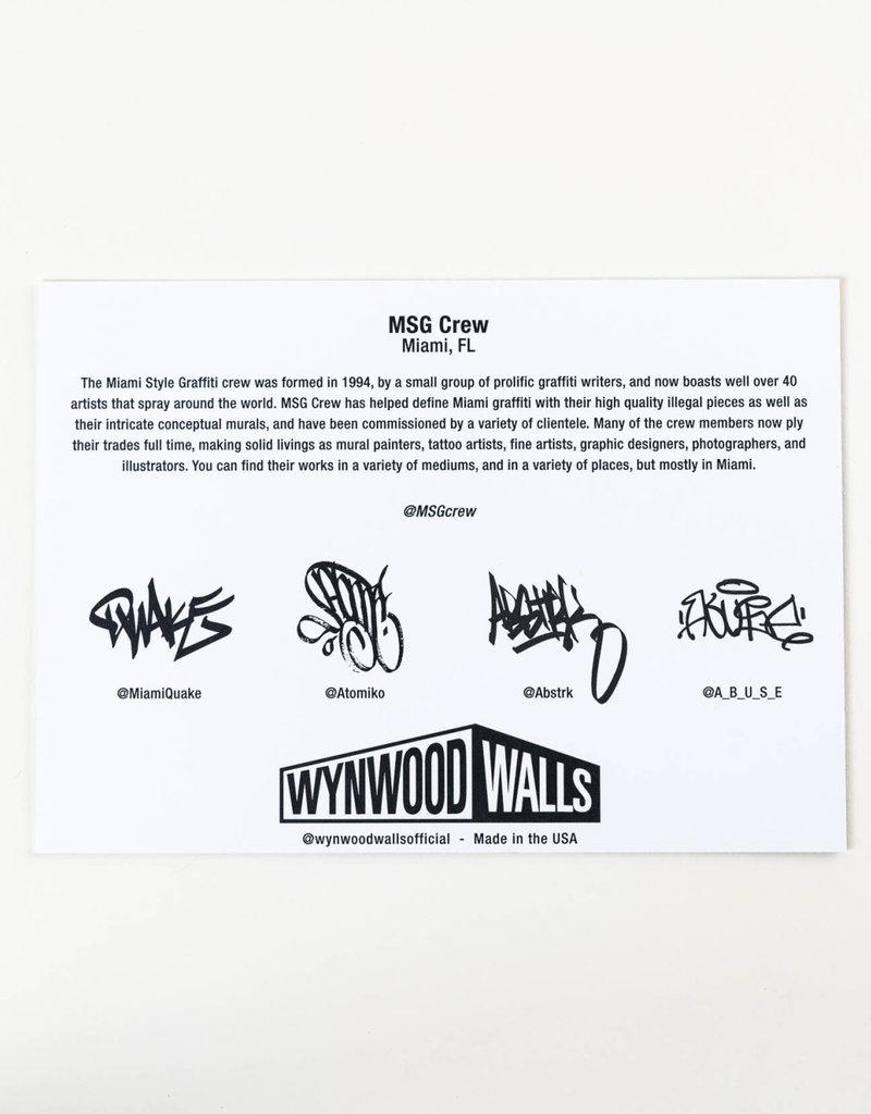MSG Crew MSG Crew Sticker Pack II