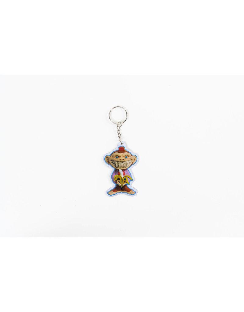 Ron English Monkey Shiner Keychain