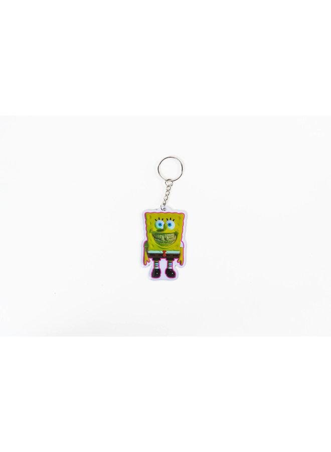 Ron English Spongebob Keychain
