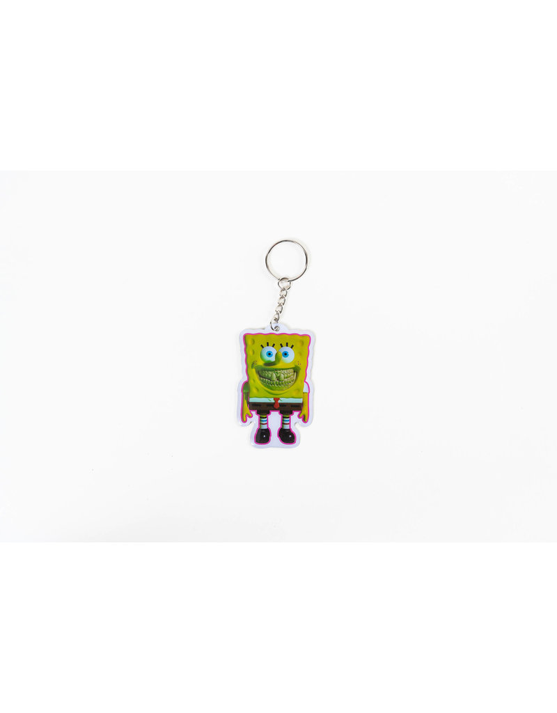 Ron English Spongebob Keychain