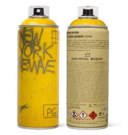 Jean-Michel Basquiat Limited Edition Basquiat El Dorado Spray Can