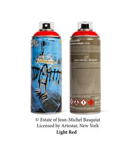 Limited Edition Basquiat Light Red Spray Can