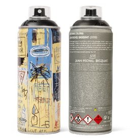 Jean-Michel Basquiat Limited Edition Basquiat Matte Black Spray Can