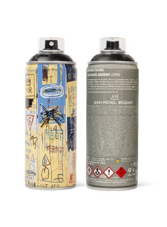Limited Edition Basquiat Matte Black Spray Can