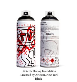 Keith Haring Limited Edition Keith Haring Black Spray Can