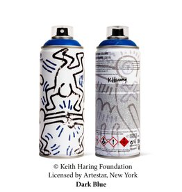 Keith Haring Limited Edition Keith Haring Dark Blue Spray Can