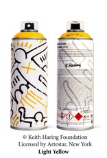Keith Haring Limited Edition Keith Haring Light Yellow Spray Can