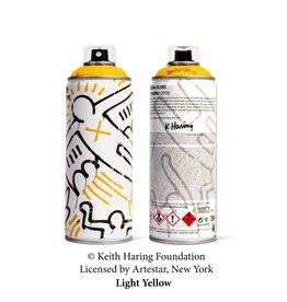 Limited Edition Keith Haring Light Yellow Spray Can