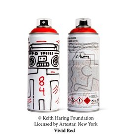 Keith Haring Limited Edition Keith Haring Vivid Red Spray Can