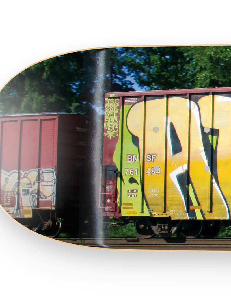 "Atomik Atomik ""Wholecar"" Skate Deck"