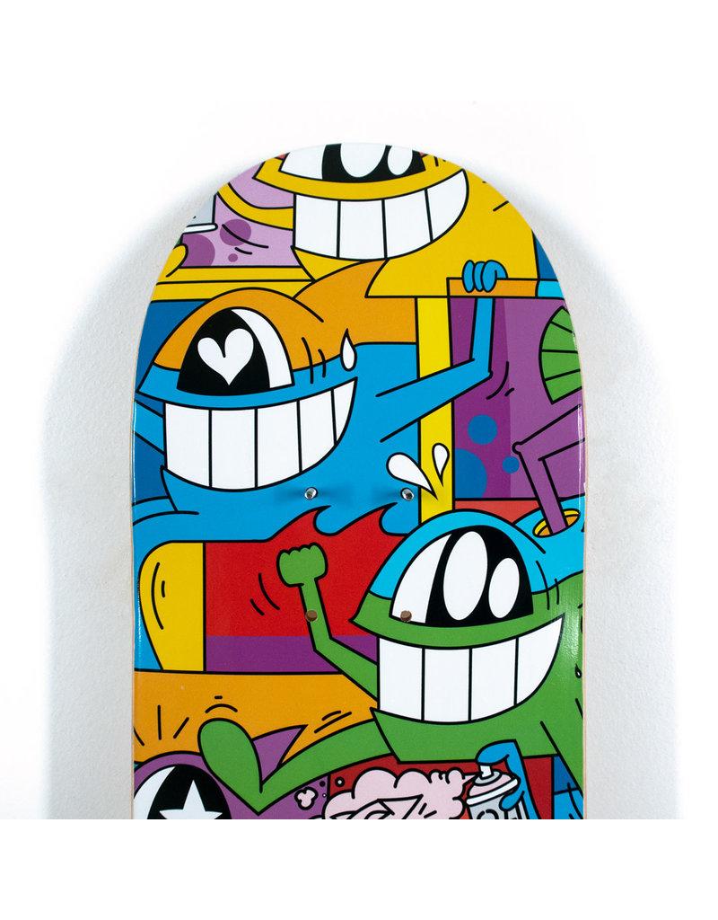 "PEZ Pez ""Don't Worry I'm Happy"" Skate Deck"