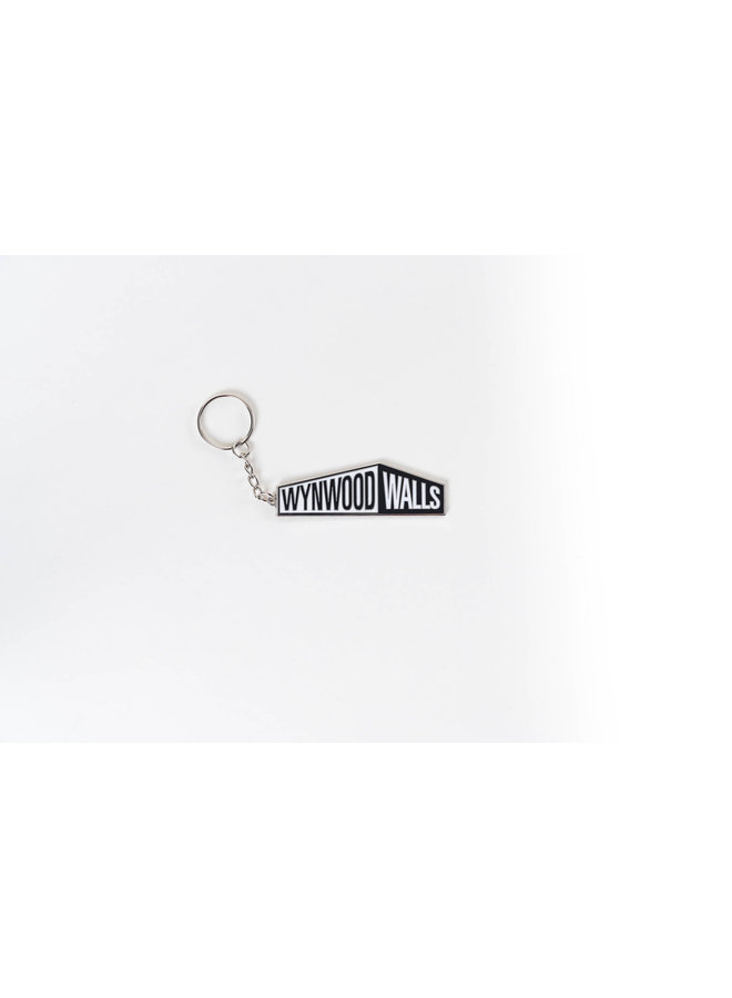 Wynwood Walls Logo Keychain