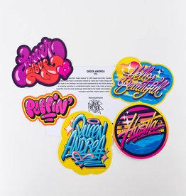 Queen Andrea Queen Andrea Sticker Pack