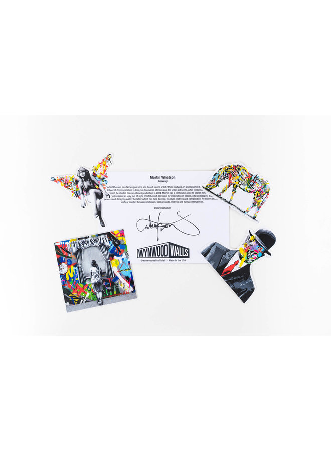 Martin Whatson Sticker Pack