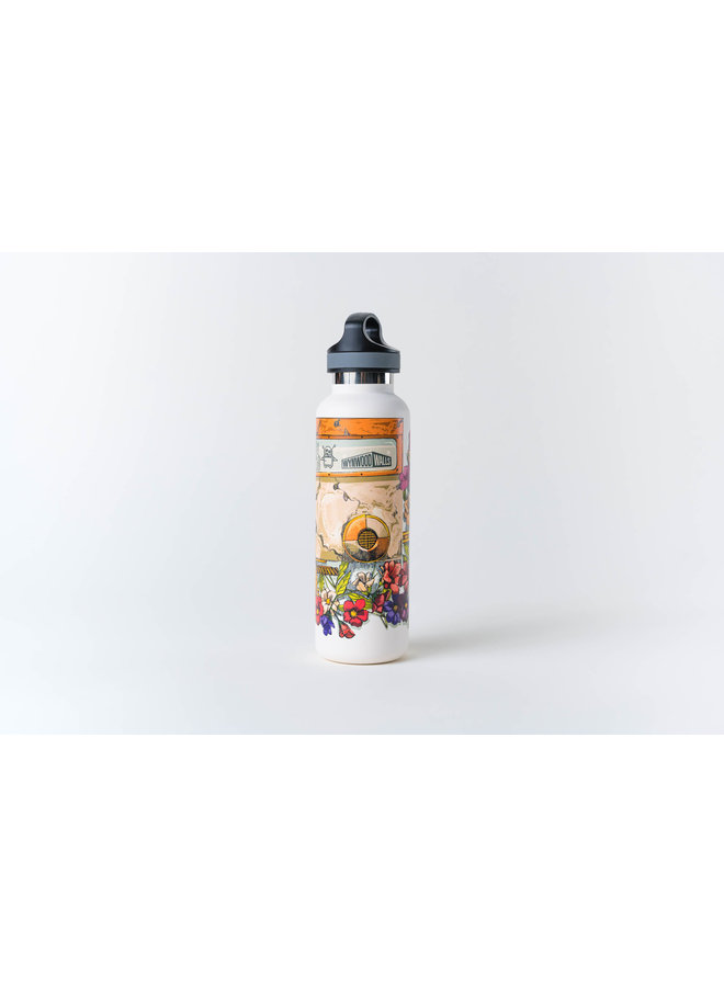 Pixel Pancho  Gardenboy Water Bottle