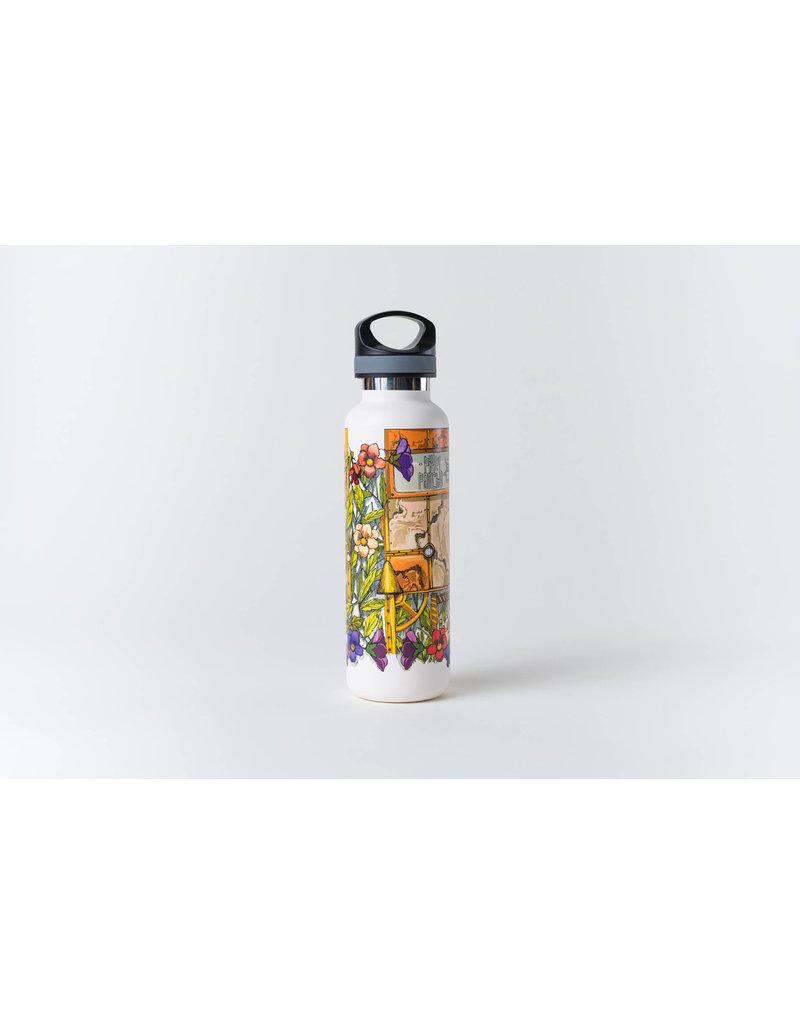 "Pixel Pancho ""Gardenboy"" Water Bottle"