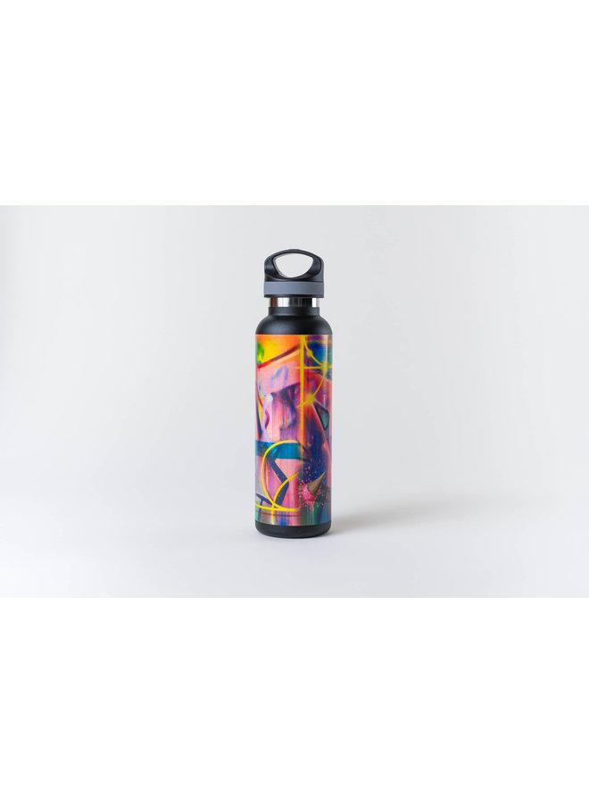 "RISK ""Riskoleum"" Water Bottle (Black)"