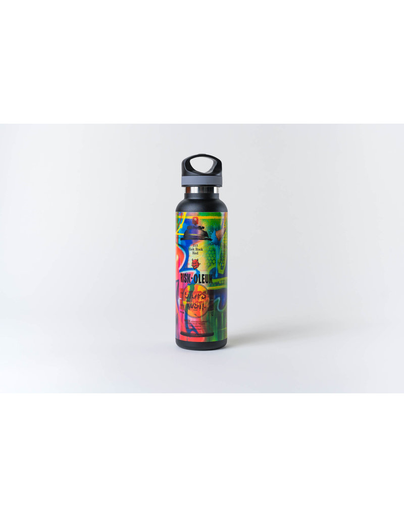 "RISK ""Riskoleum"" Water Bottle (Black)"