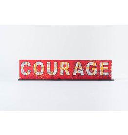 "Peter Tunney Peter Tunney ""COURAGE"" Acrylic Billboard"