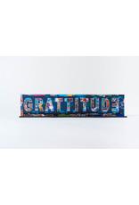 """Peter Tunney Peter Tunney """"GRATITUDE"""" Acrylic Billboard"""