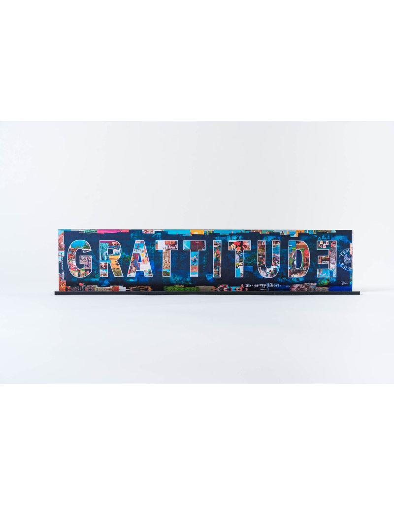 "Peter Tunney ""GRATITUDE"" Acrylic Billboard"