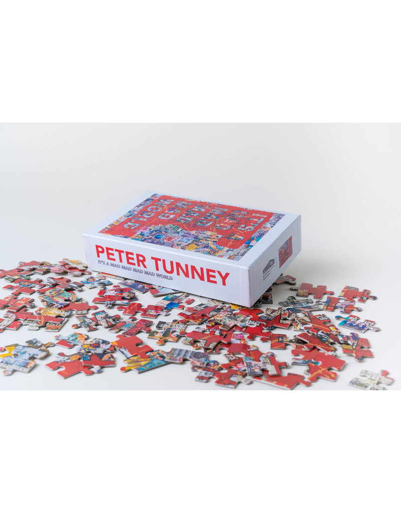 "Peter Tunney ""It's a Mad Mad Mad Mad World"" Puzzle"