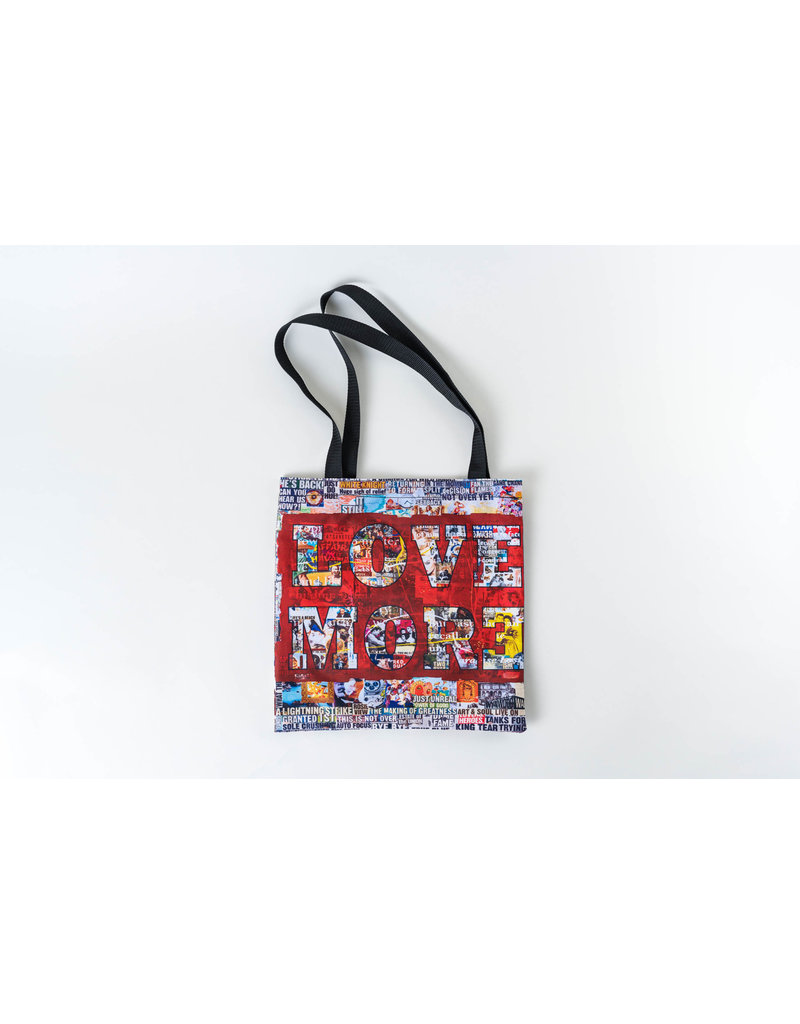 "Peter Tunney Peter Tunney ""Fear Less, Love More"" Tote"
