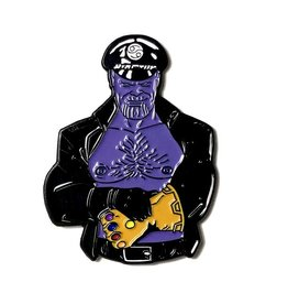 Geeky and Kinky Leather Daddy Pin