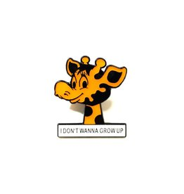 I Don't Wanna Grow Up Pin